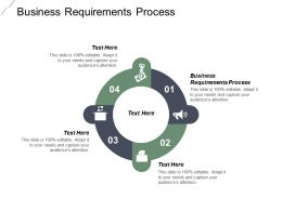 Business Requirements Process Ppt Powerpoint Presentation Infographic Template Model Cpb