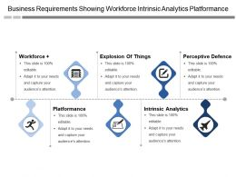 Business Requirements Showing Workforce Intrinsic Analytics Platformance
