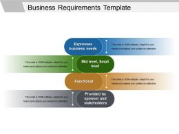 Business Requirements Template Powerpoint Slides