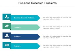Business Research Problems Ppt Powerpoint Presentation Infographic Template Inspiration Cpb