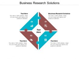 Business Research Solutions Ppt Powerpoint Presentation Pictures Graphics Cpb