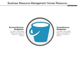 Business Resource Management Human Resource Management Computer Application Cpb