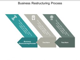 Business Restructuring Process Ppt Powerpoint Presentation Model Design Ideas Cpb