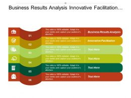 Business Results Analysis Innovative Facilitation Decision Matrix Template
