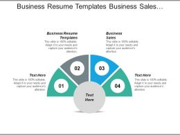 Business Resume Templates Business Business Sales Impressive Resume Cpb