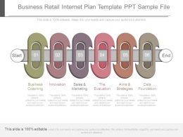 Business Retail Internet Plan Template Ppt Sample File