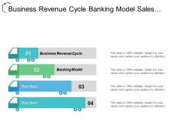 Business Revenue Cycle Banking Model Sales Channel Management Cpb