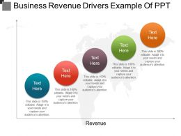 Business Revenue Drivers Example Of Ppt