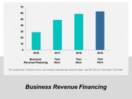 Business Revenue Financing Ppt Powerpoint Presentation Gallery Background Designs Cpb