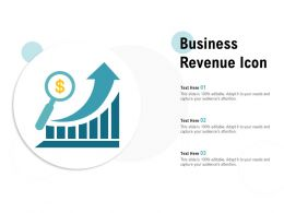 Business Revenue Icon