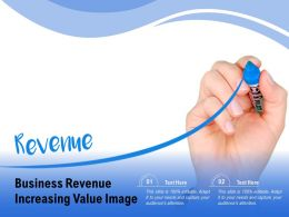 Business Revenue Increasing Value Image
