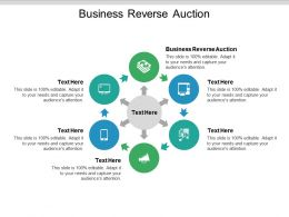 Business Reverse Auction Ppt Powerpoint Presentation Icon Vector Cpb
