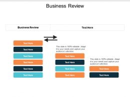 Business Review Ppt Powerpoint Presentation File Slideshow Cpb