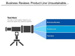 Business Reviews Product Line Unsustainable Development Brainstorm Product Cpb