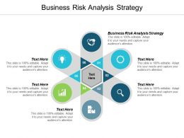 Business Risk Analysis Strategy Ppt Powerpoint Presentation Gallery Elements Cpb