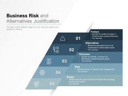 Business Risk And Alternatives Justification