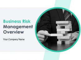 Business Risk Management Overview Powerpoint Presentation Slides