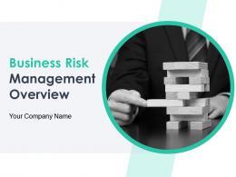 Business Risk Management Overview Powerpoint Presentation Slides
