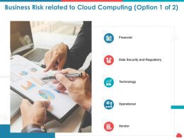 Business Risk Related To Cloud Computing Regulatory Ppt Powerpoint Information