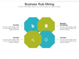 Business Rule Mining Ppt Powerpoint Presentation Infographics Graphics Template Cpb