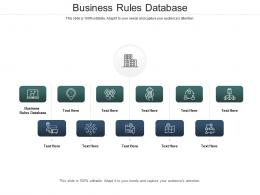 Business Rules Database Ppt Powerpoint Presentation Summary Background Images Cpb