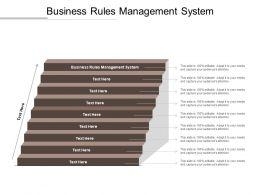 Business Rules Management System Ppt Powerpoint Presentation Portfolio Master Slide Cpb