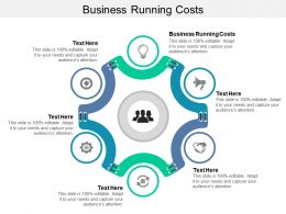 Business Running Costs Ppt Powerpoint Presentation Slides Information Cpb
