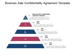 Business Sale Confidentiality Agreement Template Ppt Powerpoint Presentation Templates Cpb