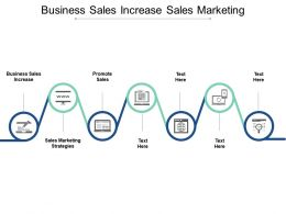 Business Sales Increase Sales Marketing Strategies Promote Sales Cpb
