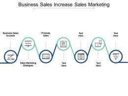 Business Sales Increase Sales Marketing Strategies Promote Sales Cpb