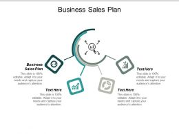 Business Sales Plan Ppt Powerpoint Presentation Outline Icon Cpb