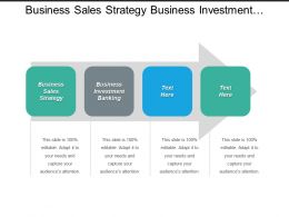 Business Sales Strategy Business Investment Banking Organizational Change Cpb