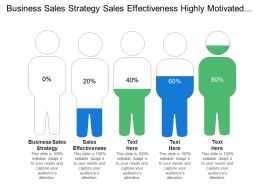 Business Sales Strategy Sales Effectiveness Highly Motivated Sales Process
