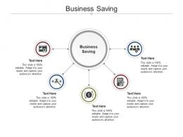 Business Saving Ppt Powerpoint Presentation Infographic Template Templates Cpb