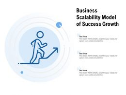 Business Scalability Model Of Success Growth