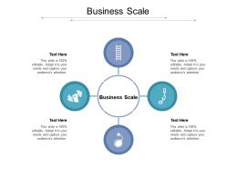 Business Scale Ppt Powerpoint Presentation Gallery Guidelines Cpb