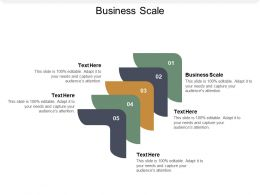 Business Scale Ppt Powerpoint Presentation Professional Vector Cpb