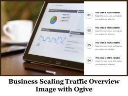 Business Scaling Traffic Overview Image With Ogive