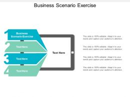 Business Scenario Exercise Ppt Powerpoint Presentation Layouts Graphics Tutorials Cpb