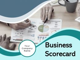 Business Scorecard Strategy Measure Communication Management Framework