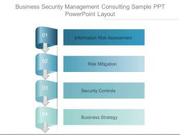 Business Security Management Consulting Sample Ppt Powerpoint Layout