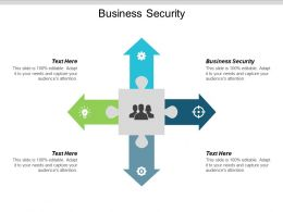 Business Security Ppt Powerpoint Presentation Gallery Graphics Design Cpb