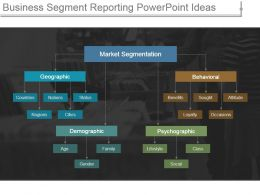 Business Segment Reporting Powerpoint Ideas