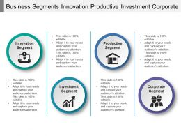 Business Segments Innovation Productive Investment Corporate