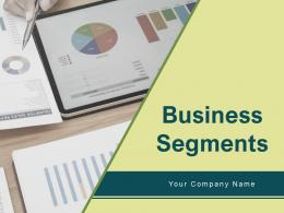 Business Segments Product Pyramid Financial Services Formation Cross Shape Percentage