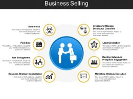 Business Selling Ppt Sample Presentations