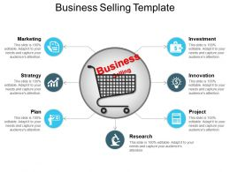 Business Selling Template Ppt Presentation Examples