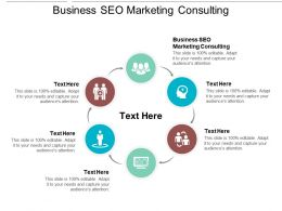 Business SEO Marketing Consulting Ppt Powerpoint Presentation Summary Design Ideas Cpb