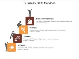 Business SEO Services Ppt Powerpoint Presentation Pictures Elements Cpb