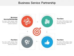 Business Service Partnership Ppt Powerpoint Presentation Icon Master Slide Cpb